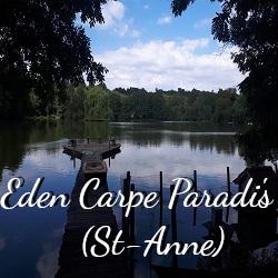 Plus d'informations sur la pêche à l'étang St-Anne.