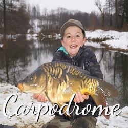 Plus d'informations sur la pêche au carpodrome.